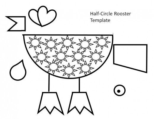 30 best Printable Rooster Templates for Kids images on