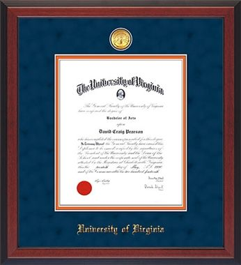 17 Best Images About University Of Virginia Diploma Frames