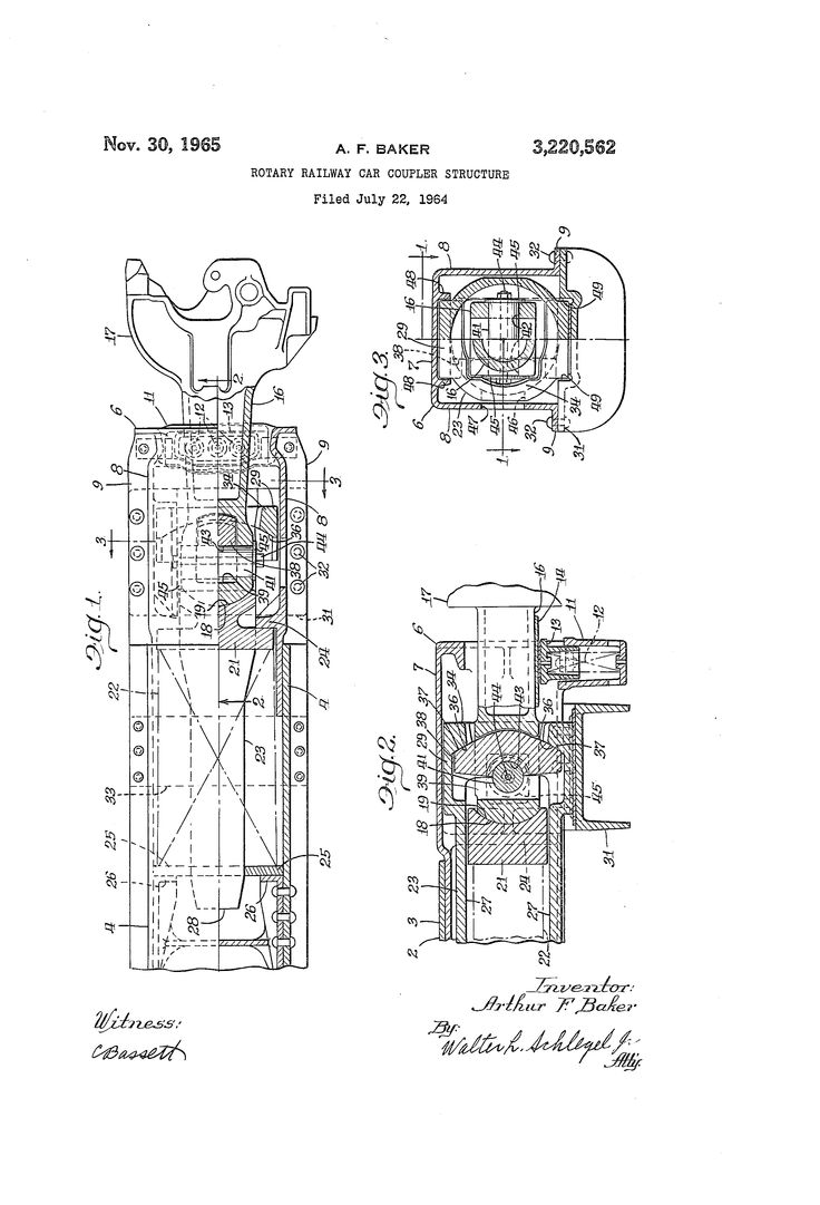 Rotary railway car coupler structure