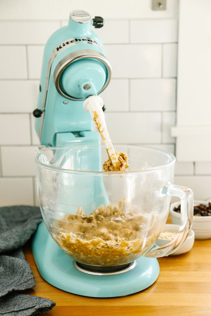 Simplify busy mornings with healthy, make-ahead Oat and Chia Breakfast Cookies from @livesimplymom on our blog. Use your KitchenAid® Stand Mixer for this recipe.