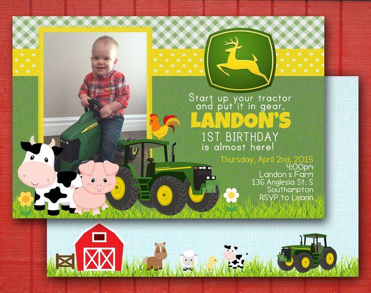 Farmer's First Birthday