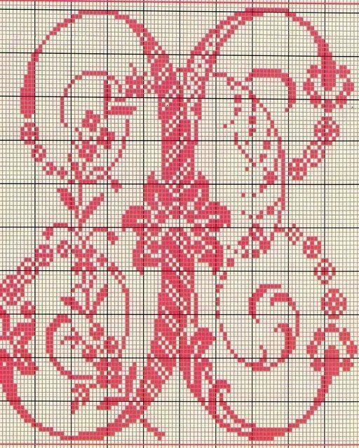 Alphabet Ancien Point De Croix 22 Modèles De Point De