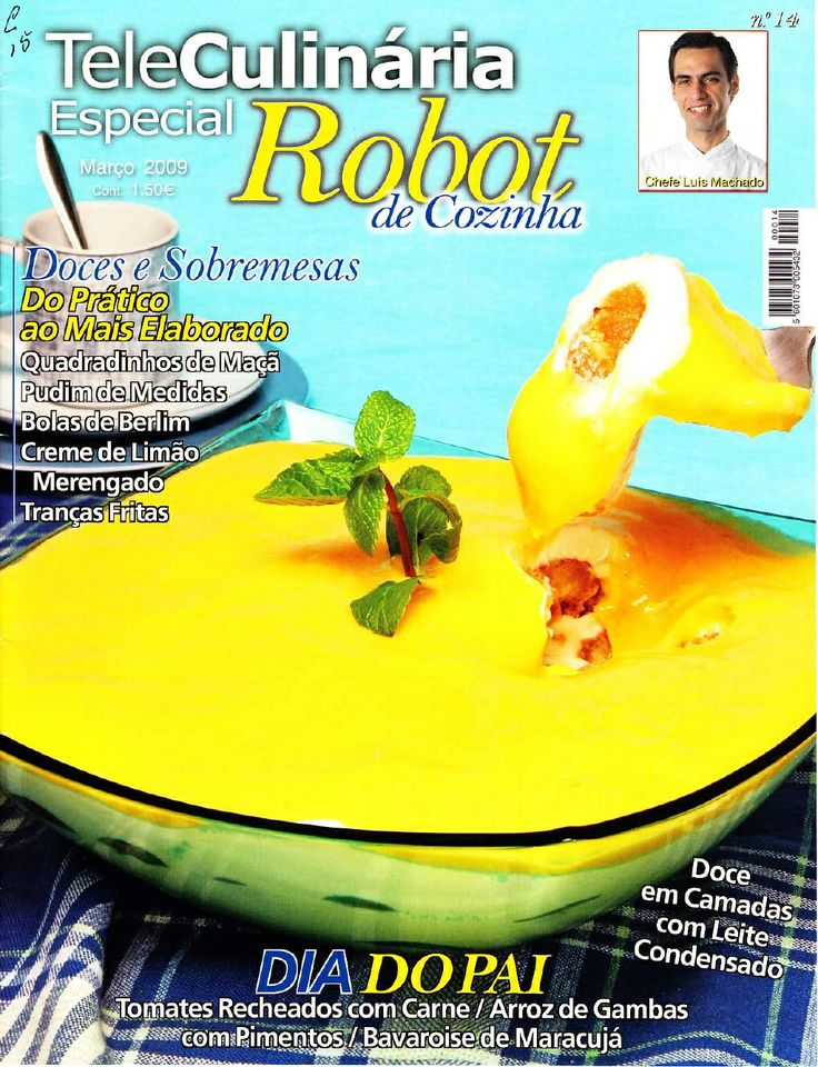 Receitas Robot De Cozinha N 14