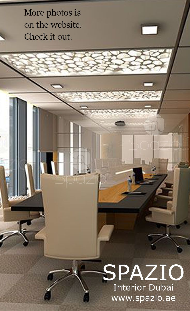Meeting room in modern office The interior