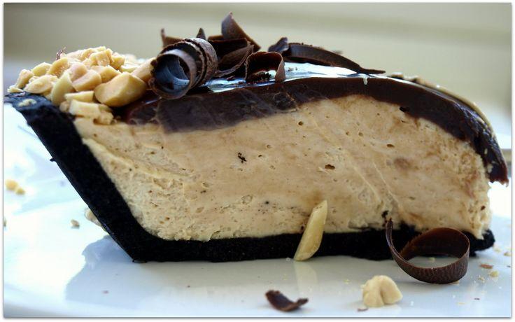 Chocolate peanut butter pie!     My Christmas dessert contribution :)