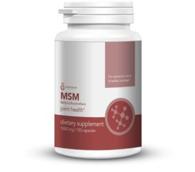 Methylsulfonylmethane (MSM). Improves flexibility and mobility by promoting healthy joint function. Supports a quick recovery time after an intense training session. May help promote healthy hair, skin, and nails. Depleted soil conditions over several generations have taken this crucial mineral out of the average person's diet and the body cannot derive it on its own. Therefore, it is important that we supplement MSM (sulfur) into our diets for optimal health.