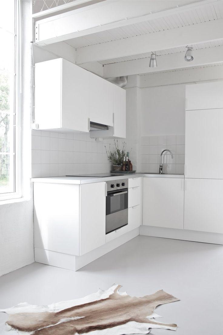 Al al alno kitchen cabinets chicago - Kitchen White On White