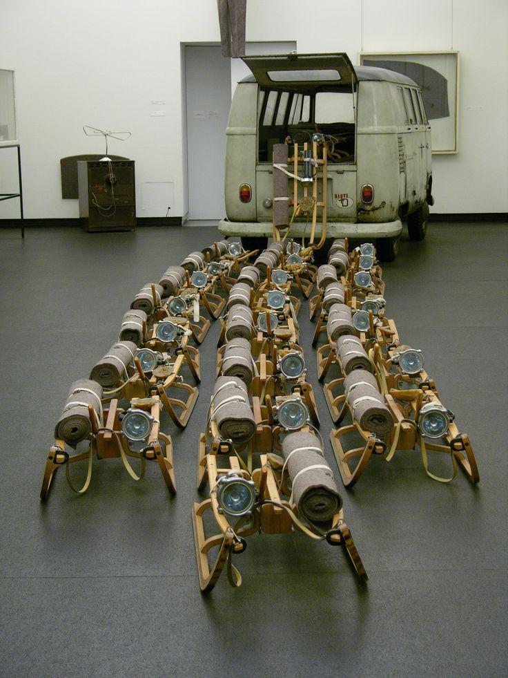 Joseph Beuys - Das Rudel (the pack)