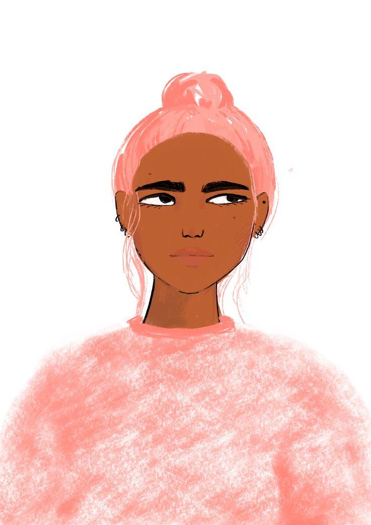 Pink hair 🖤