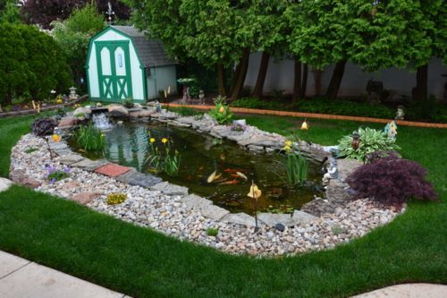 Fish Dying In Backyard Pond :  about TetraPond on Pinterest  Backyard ponds, Goldfish and The pond