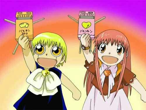 Zatch Bell and Tia