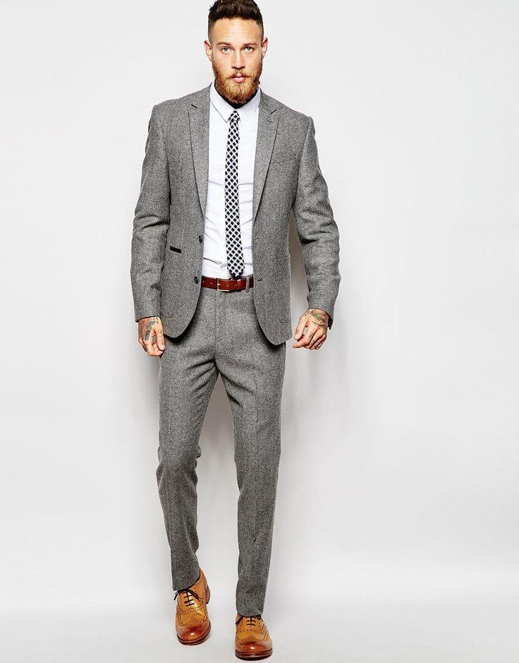 Nice Grey suit, nice style