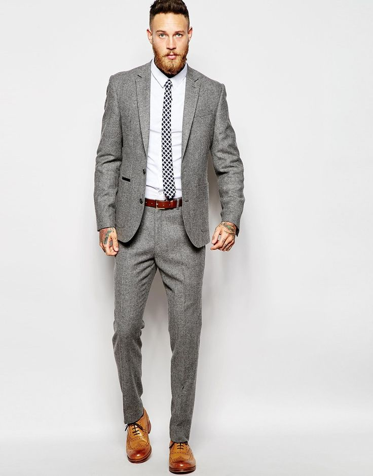 1000  ideas about Grey Suits on Pinterest | Charcoal gray suit