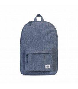 """Herschel - Classic Backpack 18"""" - Dark Chambray Crosshatch"""