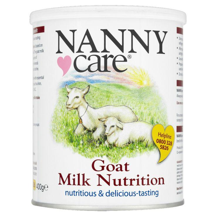 Nannycare goat milk infant nutrition 400g goat milk