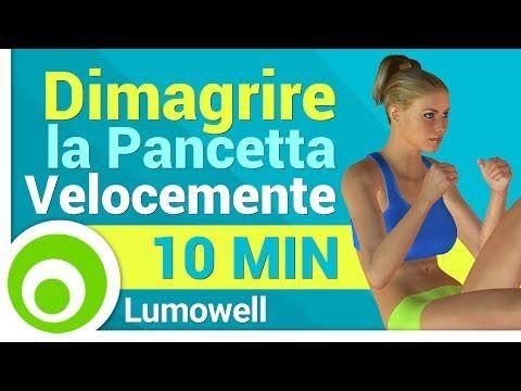 Dimagrire la Pancetta - YouTube