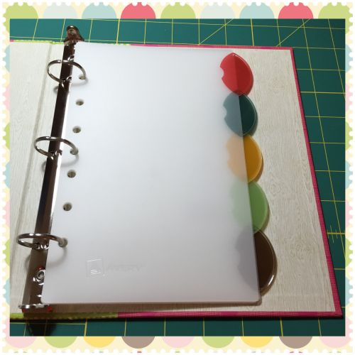 Use a small 3 ring binder to bullet journal
