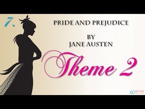 an analysis of themes presented in jane austens pride and prejudice Charlotte lucas in pride and prejudice offers the most tough-minded and unsentimental analysis, counselling that jane bennet should secure her rich husband first and think about love only after they are married 'happiness in marriage is entirely a matter of chance' (ch 6.