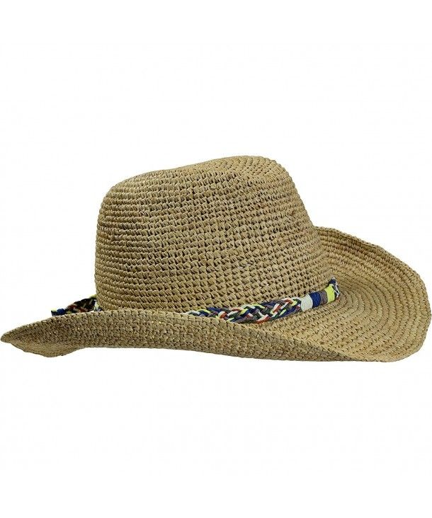 054c33e0 Hats & Caps, Women's Hats & Caps, Cowboy Hats, Straw Beach Cowboy Wired