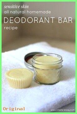 50+ Hautpflege – Hausgemachte ätherische Öl-Stick / Riegel-Deo-Rezept für empfindliche Hau…