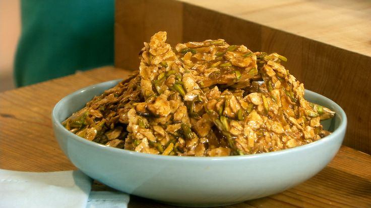 Passover Pistachio Brittle | Recipe | Pistachios, The o'jays and ...