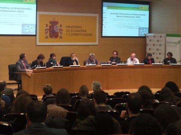 """Jornada """"BIOECONOMÍA: Convocatoria RETOS COLABORACIÓN 2016"""""""