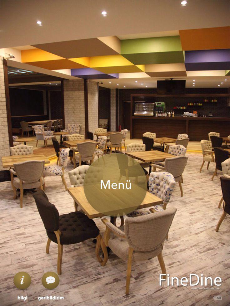 Bolu Restoran kafe tablet menü  http://www.finedinemenu.com/