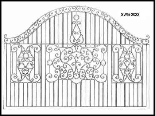 Iron Gate Design Swg2022 Iron Gate Designs Wrought