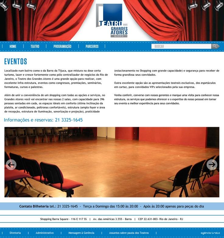 página Eventos