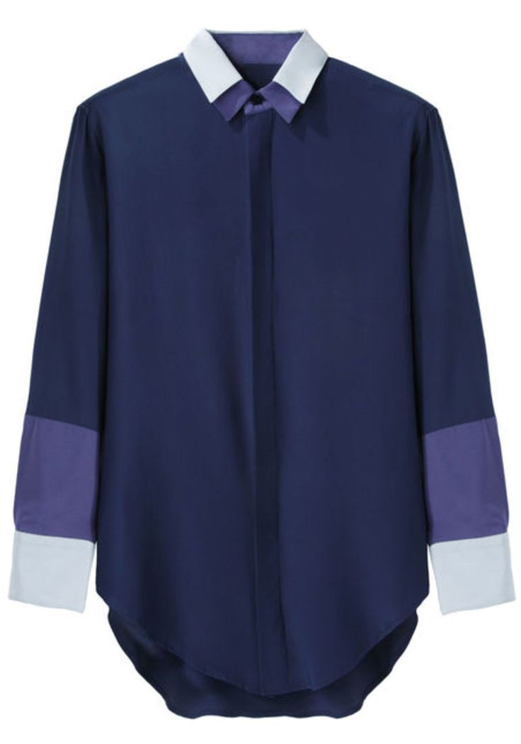 """Boy by Band of Outsiders Double Collar Shirt, $225 (from $450), available at <a href=""""http://www.lagarconne.com/store/item.htm?itemid=21562"""