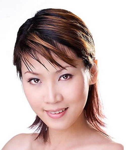 2013 asian short hairstyles and colors for women