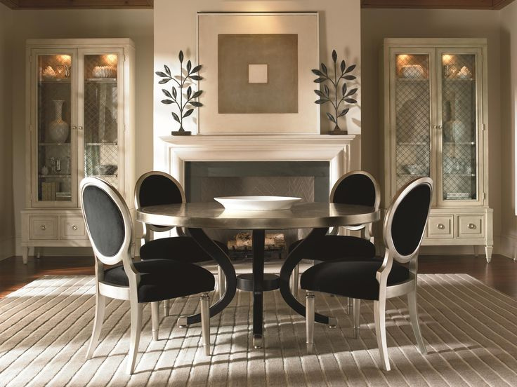 Dining Room Sets Baton Rouge Part - 18: Center Of Attention Dining Table - Caracole Furniture
