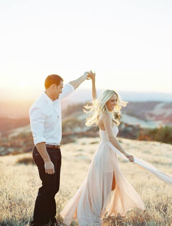 We will be dancing in our engagement pics...most likely listening to Arcade Fire