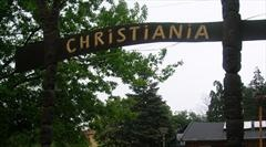 """Visit Christinia, a freetown founded in 1971 and a """"society within society""""."""
