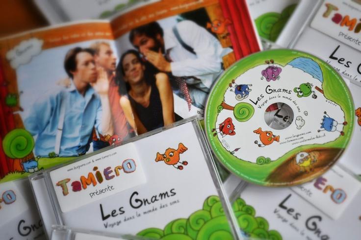 Les Gnams - Voyage dans le monde des sons - www.lesgnams.com