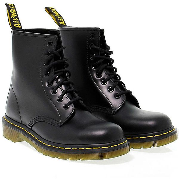 Dr Martens Low Boots (€152) ❤ liked on Polyvore featuring shoes, boots, ankle booties, обувь, black, leather boots, low heel booties, black boots, leather platform booties and low heel boots