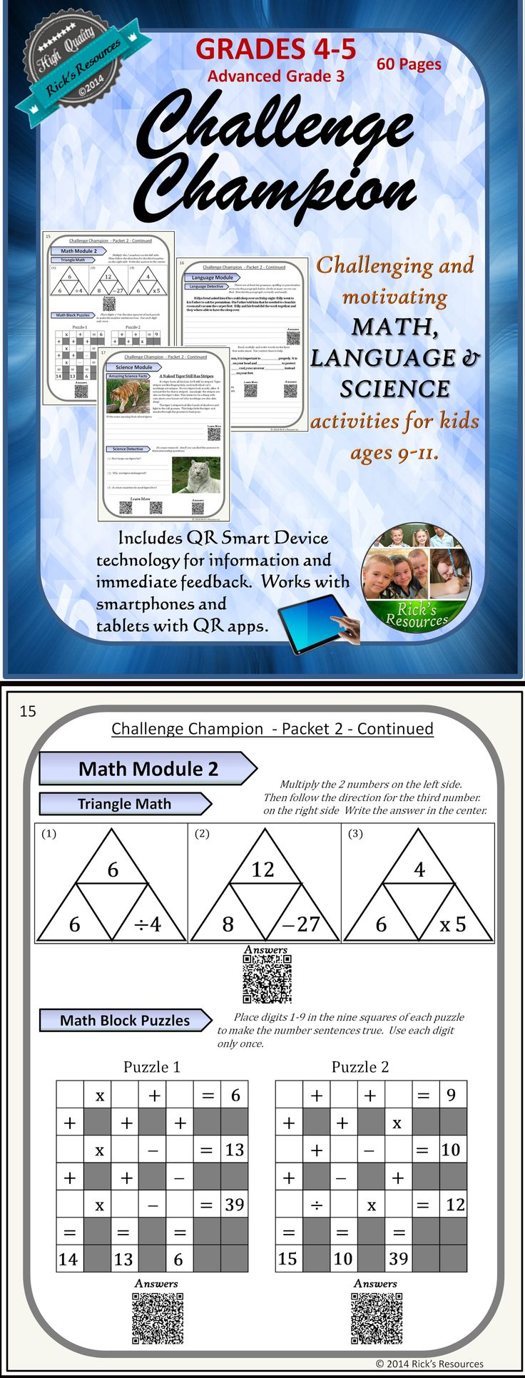 17 Best images about Fourth Grade on Pinterest | The smart ...