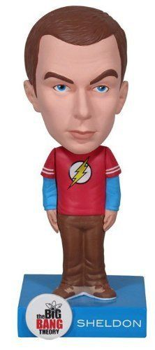 Commemorate your favorite cult classic with an awesome Big Bang Theory Sheldon Wacky Wobbler Bobblehead . Free shipping on The Big Bang Theory orders over $50. #valentinesday