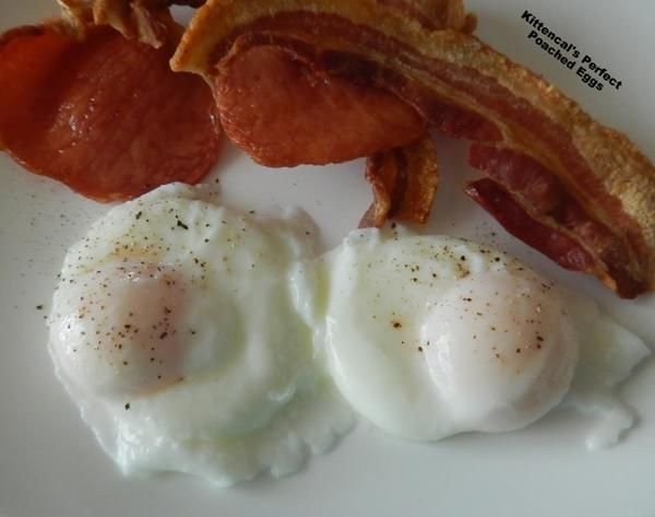 Kittencal's Perfect Poached Eggs