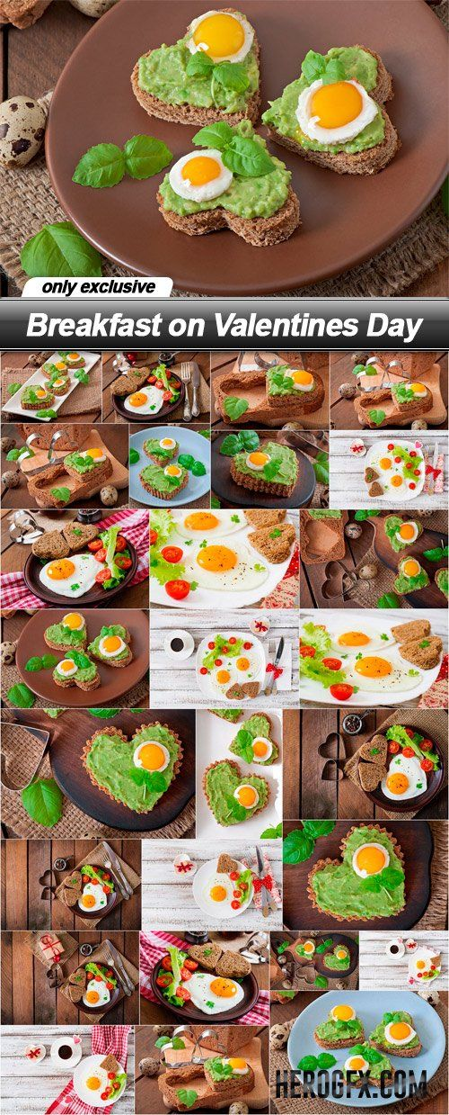 Breakfast on Valentines Day - 27 UHQ JPEG