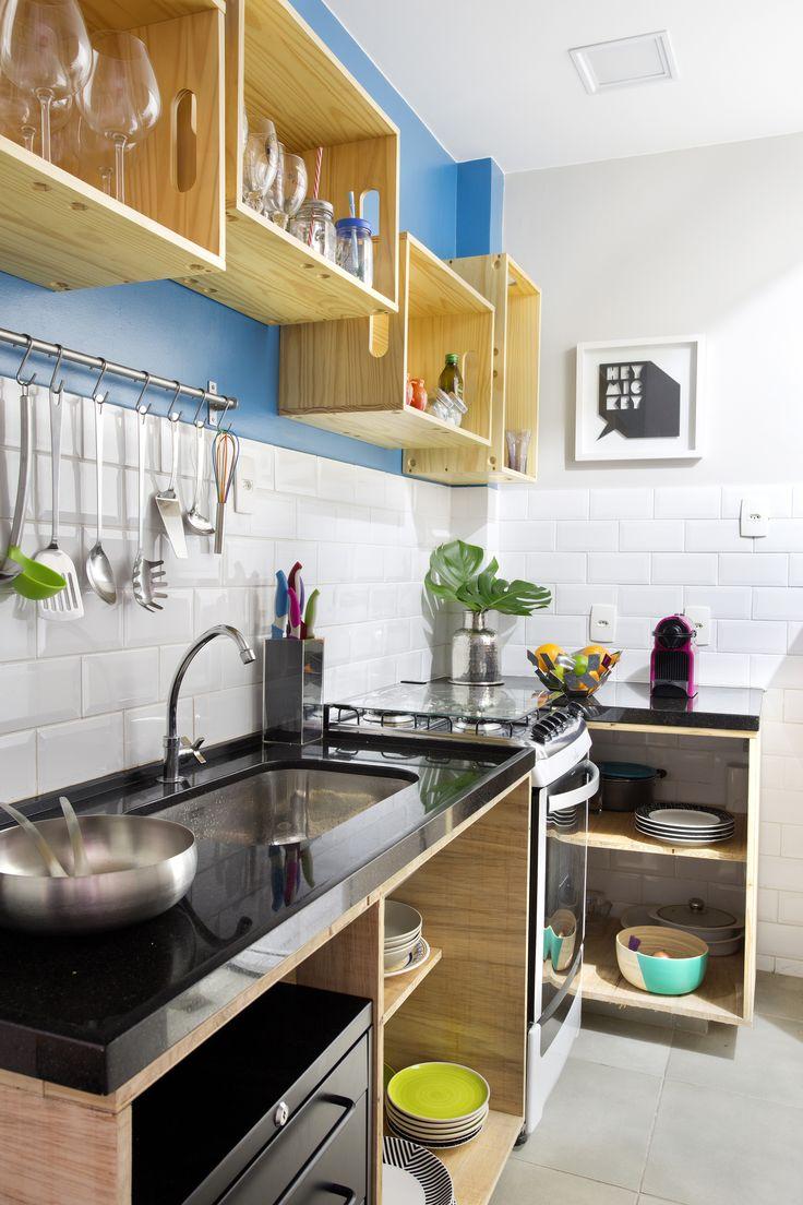 Apartamento Maria Quiteria 48m2 Projeto Tripper Arquitetura Fotos: MCA Studio