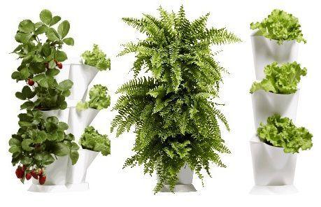 Univerzální a jednoduchý systém květináčů Minigarden Vám umožní snadno a rychle postavit vertikální zahradu na pěstování květin, bylin nebo zeleniny u Vás doma, na terase nebo balkóně.