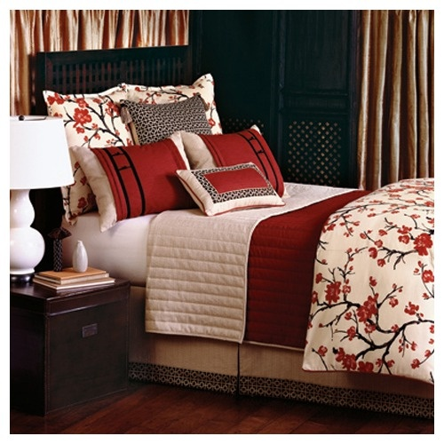 1000 images about japanese bedding for savannah on for Cherry blossom bedroom ideas