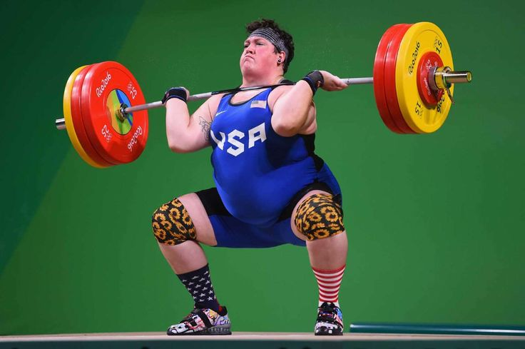 Sarah Robles wins bronze in weightlifting:  August 14, 2016  -   RIO DE JANEIRO, BRAZIL - AUGUST 14: Sarah Elizabeth Robles of the United States competes during the Weightlifting - Women's +75kg Group A on Day 9 of the Rio 2016 Olympic Games at Riocentro - Pavilion 2 on August 14, 2016 in Rio de Janeiro, Brazil. That's our homegirl!