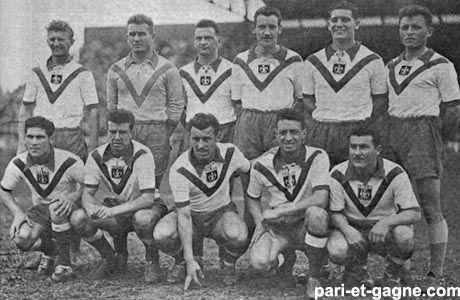 Equipe 1953-1954 #LOSC #foot