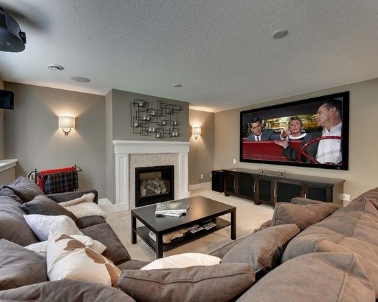 How To Organize Your Media Room So That Everyone Can Enjoy It Basement Ideas Look And Fireplaces