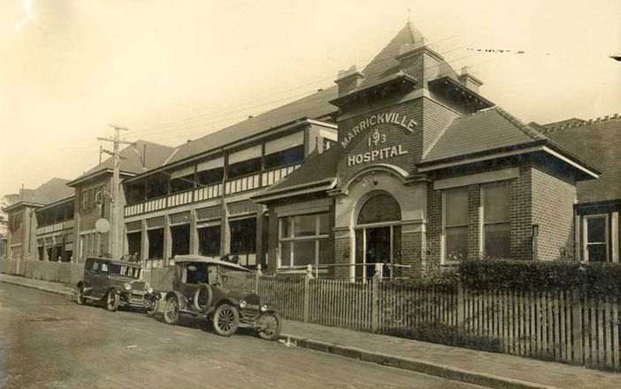 The Marrickville Cottage Hospital was designed by Morgan & Josephson Architects with the foundation stone laid by Governor Hampden in April 1897. Consisting of two buildings, one fronting Lilydale Street and another behind, the hospital opened 10 June, 1899. In 1902 an isolation wing was added to the rear block (possibly resulting from the bubonic outbreak of 1900) & a second building was placed on the front block in 1905. In 1913 the two buildings on the front block were joined by the…