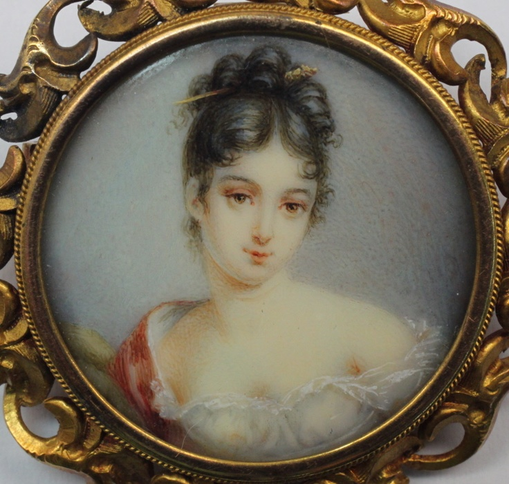 155 best miniature portraits images on pinterest for Alex paint porcelain jewelry
