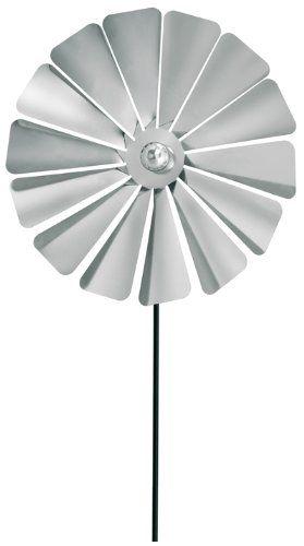 Blomus 65031 Diameter 20 x 70 cm 'Viento' Pinwheel - Silver ** For more information, visit image link. #MowersandOutdoorPowerTools