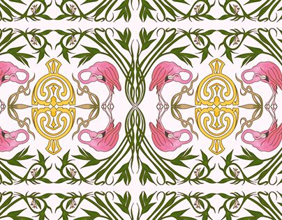 "Check out new work on my @Behance portfolio: ""Floreale 